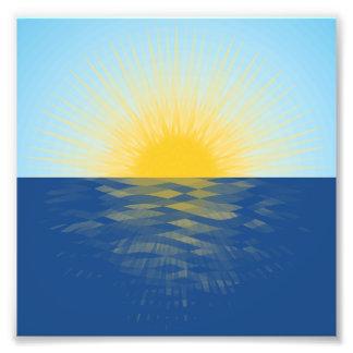 Sunrise over the Ocean New Beginnings Photo Print