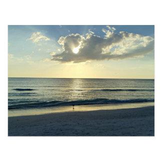 Sunrise Over The Ocean Postcard