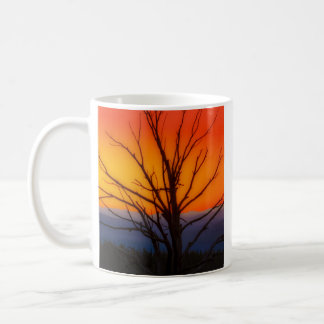Sunrise Over Yellowstone National Park Design Coffee Mug
