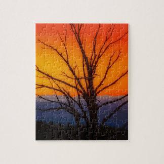 Sunrise Over Yellowstone National Park Design Jigsaw Puzzle