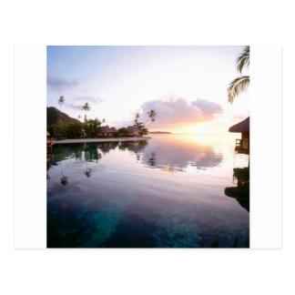 Sunrise Palmilla Coast Cabo San Lucas Mexico Postcard