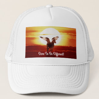 Sunrise Pegasus Trucker Hat