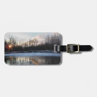 Sunrise Pond in Upstate New York Luggage Tag