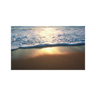 Sunrise Ray Reflection Canvas Print