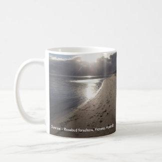 Sunrise - Rosebud foreshore #2 Basic White Mug