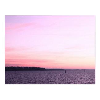 Sunrise - Ross Barnett Reservoir Postcard