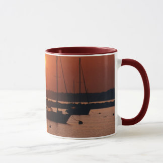 Sunrise Sailboats Mug