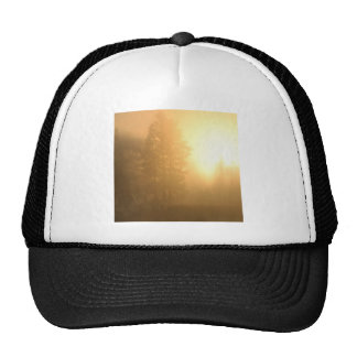 Sunrise Sapphire Mountains Montana Trucker Hat