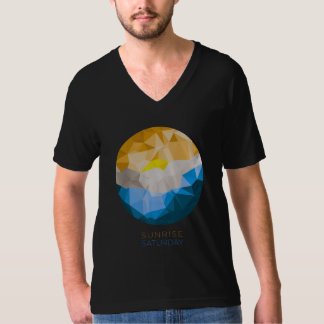 Sunrise Saturday Fine Jersey V-neck T-Shirt