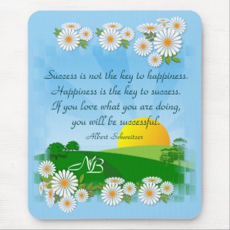 Sunrise Scene with Quotation ~ Mousepad # 3
