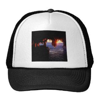 Sunrise Sea Caves Apostle Islands Wisconsin Trucker Hat