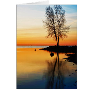 Sunrise Serenity Card