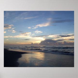 Sunrise, Shell Island Poster