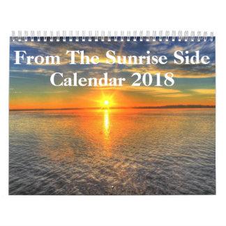 Sunrise Side 2018 Wall Calendar
