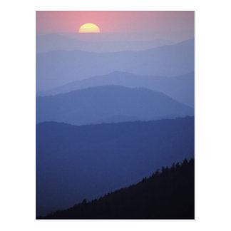 Sunrise, Southern Appalachian Mountains, Great Postcard