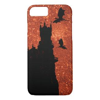 Sunrise sparkle/glitter, dragon, frost Castle Case-Mate iPhone Case