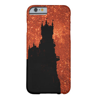 Sunrise sparkle, natural glitter frost Castle Barely There iPhone 6 Case