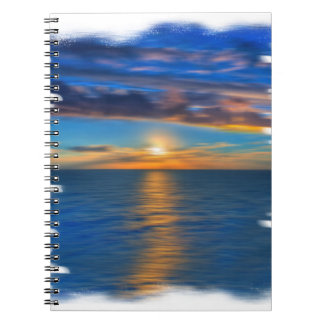 Sunrise Spiral Notebook