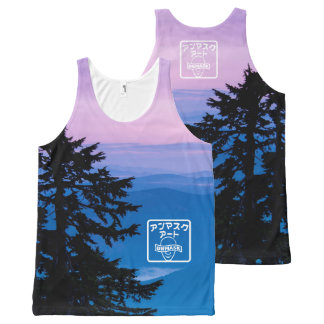 Sunrise Stamp All-Over-Print Tank Top