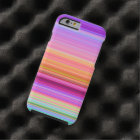 Sunrise Stripes Tough iPhone 6 Case