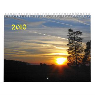 Sunrise, Sunset, 2010 Wall Calendars