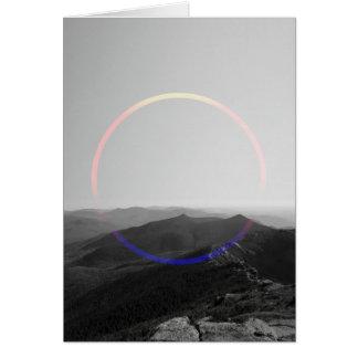 SUNRISE SUNSET CARD