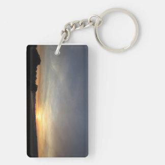 Sunrise Sunset Keychain