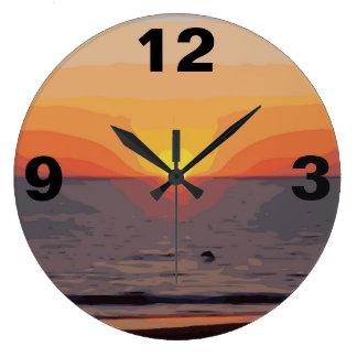 SUNRISE-SUNSET LARGE CLOCK