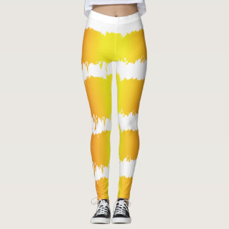 Sunrise Sunset Leggings Beautiful Abstract Design