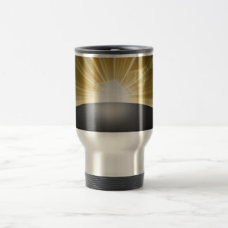 Sunrise Sunset Planet Travel Mug