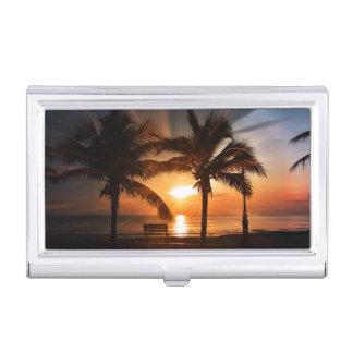 Sunrise Sunset Sun Business Card Cases