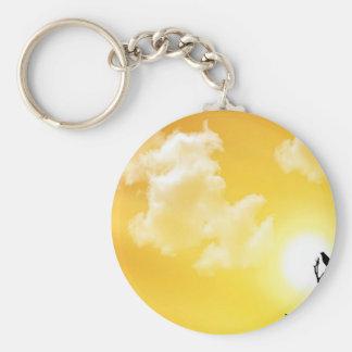 Sunrise Sunset Watch Key Chains