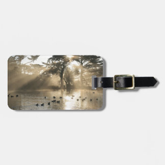 Sunrise Swimming At The Duck Pond Bag Tag