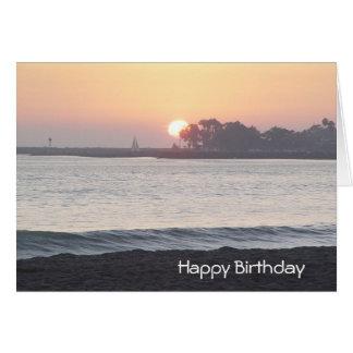 Sunrise to Sunset Birthday Greetings Card