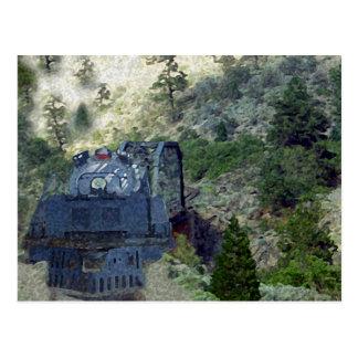Sunrise Train Postcard