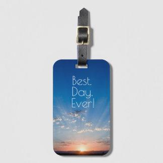 Sunrise Travel Luggage Tag