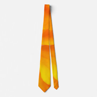 Sunrise Yellow Tie