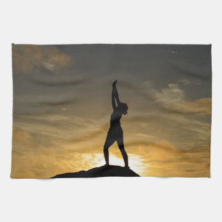 Sunrise Yoga Hand Towels
