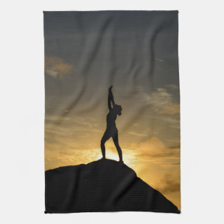 Sunrise Yoga Kitchen Towel