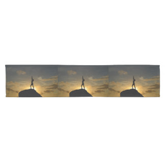 Sunrise Yoga Short Table Runner