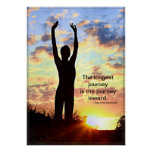 Sunrise Yoga - The Longest Journey Poster