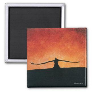 SunRiser by Nathan Jalani Taylor Square Magnet