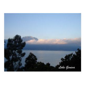 Sunrising at Lake Geneva Postcard