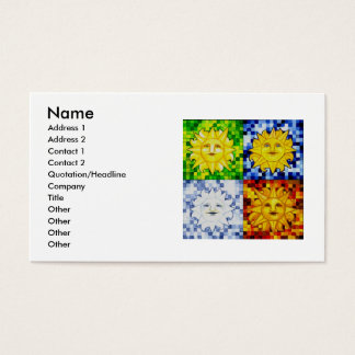 Suns For All Seasons Business Card