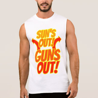 Sun's Out Guns Out Sleeveless T-Shirt