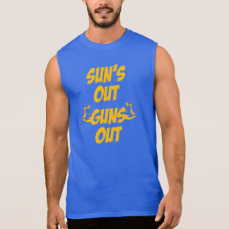 Sun's Out Guns Out Sleeveless Tee