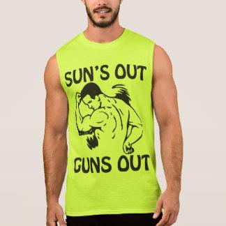 Sun's Out, Guns Out Sleeveless Tee