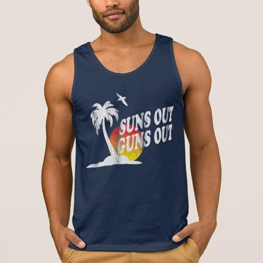 Suns Out Guns Out Tank Shirt