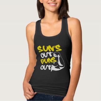 SUN'S Out GUNS Out TANK Tee