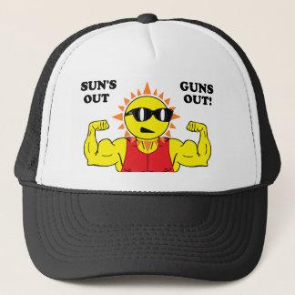 Sun's Out Guns Out Trucker Hat